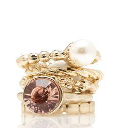 Laila Sized Ring Set - Forever New