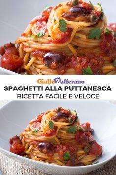 The History of Pasta in Italian Food Veggie Recipes, Pasta Recipes, Cooking Recipes, Healthy Recipes, Famous Italian Dishes, Italian Recipes, Pasta Con Broccoli, Pasta Puttanesca, Lotsa Pasta