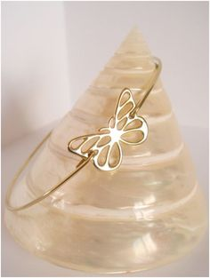 Hey, I found this really awesome Etsy listing at https://www.etsy.com/listing/128882195/gold-butterfly-bangle-ii-butterfly