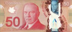 The Red Colored 50 Canadian Dollar Bill Has A Portrait Of William Lyon Kenzie King Former Prime Minister Canada Ship On Back Side - Image Of Canadian 50 Dollar Bill Canadian Dollar, 50th, Canada, Money, Wallpaper, Image, Kevin Spacey, Prime Minister, Man Style