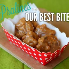 New Orleans Style Pralines