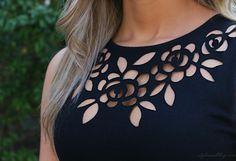 Gorgeous neckline cutout  Fashion For All