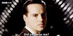 Did you miss me? PEOPLE OF THE SHERLOCK FANDOM JUST WATCH SEASON 3 ON YOUTUBE.
