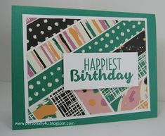 Mena Green - Stampin' Up! Demonstrator - creating and making stamping projects personally yours. Stampin' Up! cards and class projects. Card Making Techniques, Weaving Techniques, Class Projects, Projects To Try, Washi Tape Cards, Paper Weaving, Paper Strips, Stamp Making, Paper Cards
