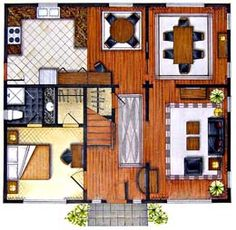 marker rendering interior design - Google Search