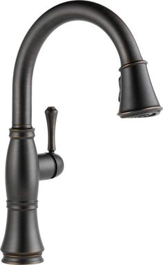Delta 9197-DST Cassidy Pull-Down Kitchen Faucet with Magnetic Docking Spray Head Venetian Bronze Faucet Kitchen Single Handle