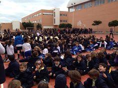 Simulacro de incendio - Colegio San Cristóbal
