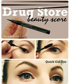 Drug Store Beauty Score: Eye Liner