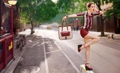 Ad Campaign: Longchamp Season: Spring/Summer 2012 Models: Coco Rocha and Liisa Winkler Photography: Dane Shitagi