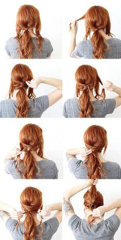 Soy Moda | 6 peinados fáciles y exprés para todos los días | http://soymoda.net