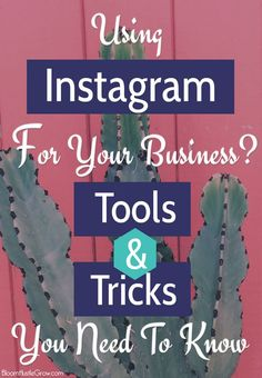 Tools & Tricks you need to know about if you are using Instagram for your business.  Make managing your Instagram account easier with these tools! From creating graphics to finding and organizing hashtags, to tips and tricks, there's an app (or hack) for that!