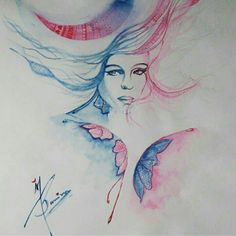 Watercolor painting :  A4 size paper