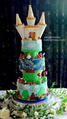 Super Mario Bros Cake Art