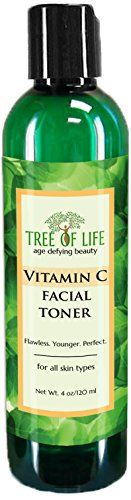ToLB Vitamin C Facial Toner  93 ORGANIC  Pore Minimizing Anti Aging Facial Toner and Rejuvenator  4 Ounce -- Details can be found by clicking on the image.