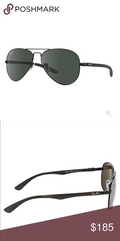 40756715b9 Ray Ban Aviator Carbon Fibre Sunglasses Rb8307 Tech Youtube ...