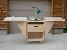 Folding Miter-Saw Station