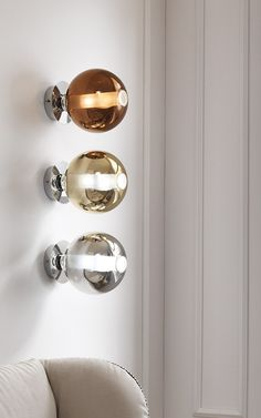 Direct light blown glass wall light ECLISSE | Wall light - Cangini & Tucci