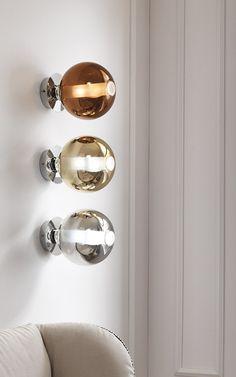 Direct light blown glass wall light ECLISSE | Wall light - Cangini & Tucci