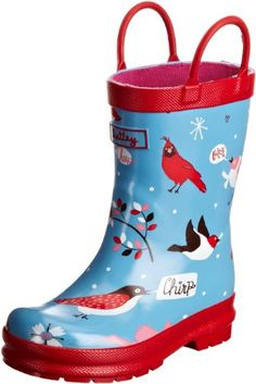 Hatley Kids ChildrenS Rubber Winter Birds Wellingtons Boot [Buy Now: £14.99 - £21.90 ] - Where applicable youll select size, color, etc. after you click the buy button. [UK & Ireland]