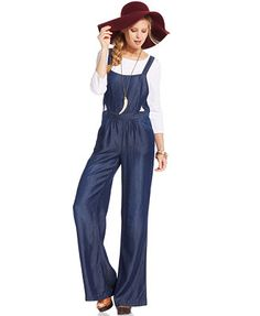 Jessica Simpson Bonnie Chambray Jumpsuit