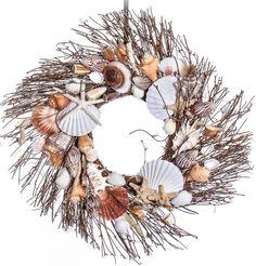 Seashell Natural Wreath