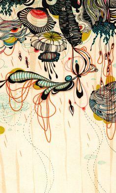 Raindrops -- by Yellena James