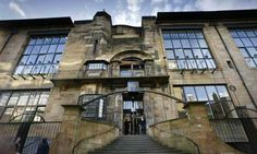 Glasgow School of Art, designed by Charles Rennie Mackintosh. I need to visit this place!
