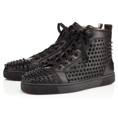 Souliers Homme - Louis Calf/spikes - Christian Louboutin
