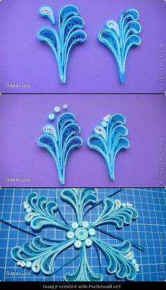 Part 6 of directions on post-ht - Quilling Paper Crafts Neli Quilling, Origami And Quilling, Quilling Paper Craft, Quilling Jewelry, Paper Crafts, Quilling Instructions, Paper Quilling Tutorial, Paper Quilling Patterns, Filigrana Neli