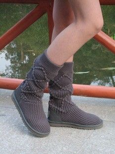 2013 Ugg Classic Argyle Knit Boots, Ugg Sweater Boots, Womens Pull On Boots #2013 #knit #ugg #boots www.loveitsomuch.com
