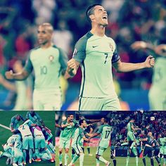 Congratulations to @selecoesportugal on reaching the UEFA #EURO2016 final! @cristiano Ronaldo and Co took down a resilient Wales side 2-0 in the semi-finals in #Lyon, with two goals coming just minutes apart shortly after the start of the second half.  #Portugal now await tomorrow's other semi-final between #Germany and hosts #France to find out who they will play at the Stade de France on Sunday.  #Wales #Lyon #CR7 #Cristiano #Bale #football #semifinal #euro #euros #stadedefrance