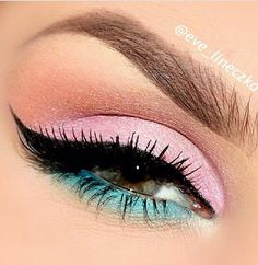 pastel eyes... love it