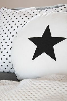 Pillows in the sign the stars