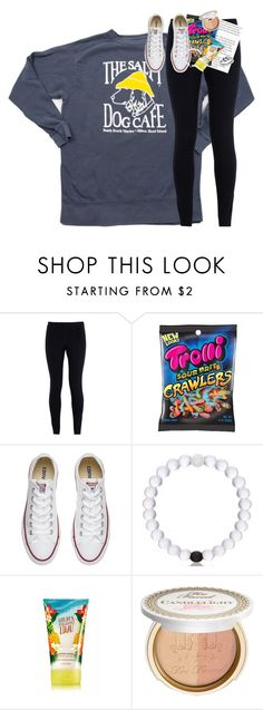 """rtd!!"" by classynsouthern ❤ liked on Polyvore featuring NIKE, Converse, Too Faced Cosmetics and Avery"