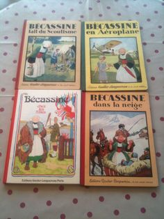 Lot 4 livres BD ancienne  Becassine FOR SALE • EUR 24,50 • See Photos! Money Back Guarantee. Bande dessinée Bécassine 272627474199