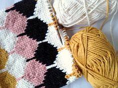 knitting stitch.