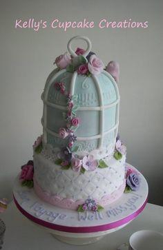 Bird Cage Cake...adorable!!