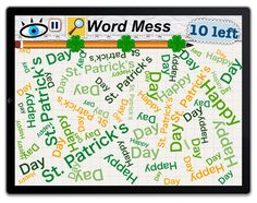 Word Mess had a few on St. Patty's day :)