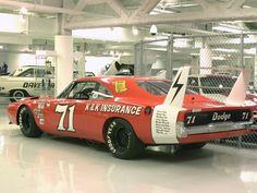 Dodge charger Verizon race car   1969 Dodge Charger Daytona NASCAR Race Car Hemi Orange rvl WPC Museum ...