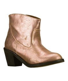 Look at this Pink Aloft Ankle Boot on #zulily today!