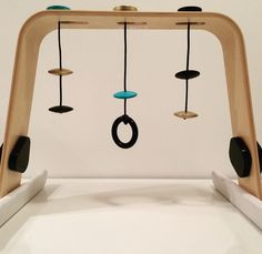 Ikea baby gym facelift by Jace I'm on a Mission to Modernize Baby Gear (Without Breaking the Bank!)