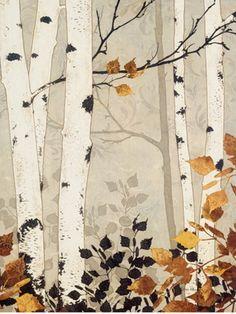 Birch Damask - Melissa Pluch