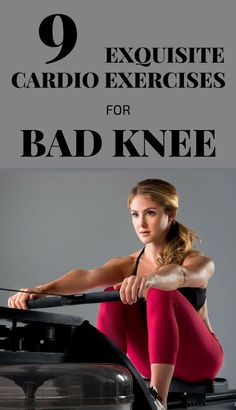 knee pain treatment: 9 Exquisite Cardio Exercises For Bad Knee Knee Strengthening Exercises, Bad Knee Exercises, How To Strengthen Knees, Cardio Routine, Cardio Workouts, Workout Tips, Workout Plans, Workout Routines, Knee Arthritis