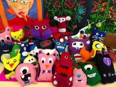 Our expanding felt family Yr 5