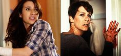 Jamie Lee Curtis (Halloween franchise) and Emma Roberts (Scream 4) have landed the lead roles in Scream Queens.