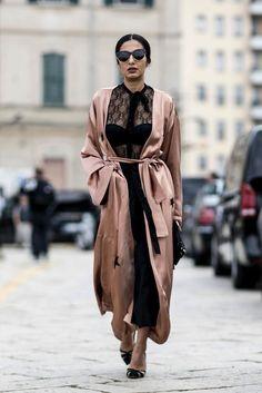 Milan Fashion Week SS17 Street Style: Day 1 - September 2016
