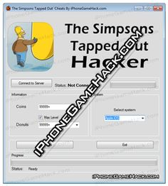The Simpsons Tapped Out Cheats Hack Donuts Coins iOS Android - http://iphonegamehack.com/the-simpsons-tapped-out-cheats-hack/ We have new update of The Simpsons Tapped Out Hack Tool for iOS and Android device this also can be used for Facebook. For using this new trainer you don't need jailbreaked device or rooted it will work with all devices like iPhone, Android, iPod Touch and iPad without any problems. So in...