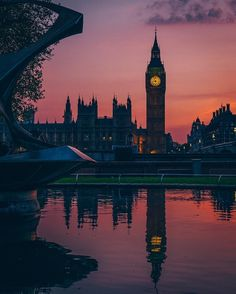 Big Ben and Houses of Parliament - London