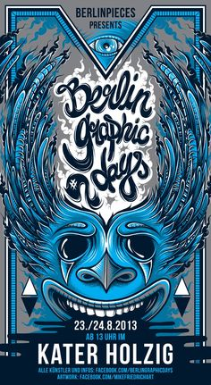 BERLIN GRAPHIC DAYS #2 - by Mike Friedrich
