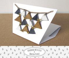 Pythagoras Leather Necklace MarineHandmadeWithLoveByMP €28,00 EUR